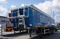 Алюминиевый полуприцеп самосвал MEGA 28 кубов